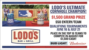 Lodo's Bar and Grill Summer Corn Hole Tournament - Highlands